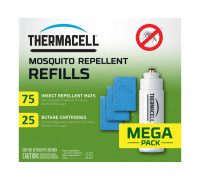Картридж Thermacell R-25 Mosquito Repellent Refills Super Mega Pack